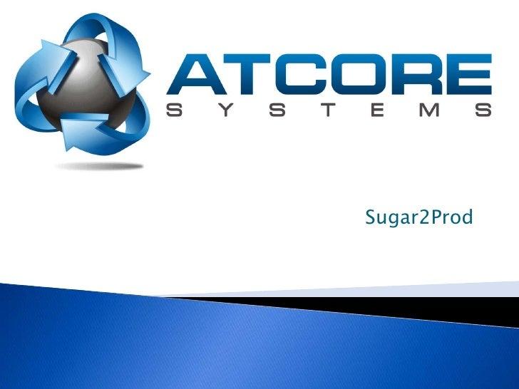 Sugar2Prod<br />