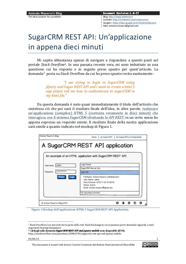 Antonio  Musarra's  Blog   Document Revision:1.0-IT The  ideal  solution  for  a  problem   Blog:  htt...