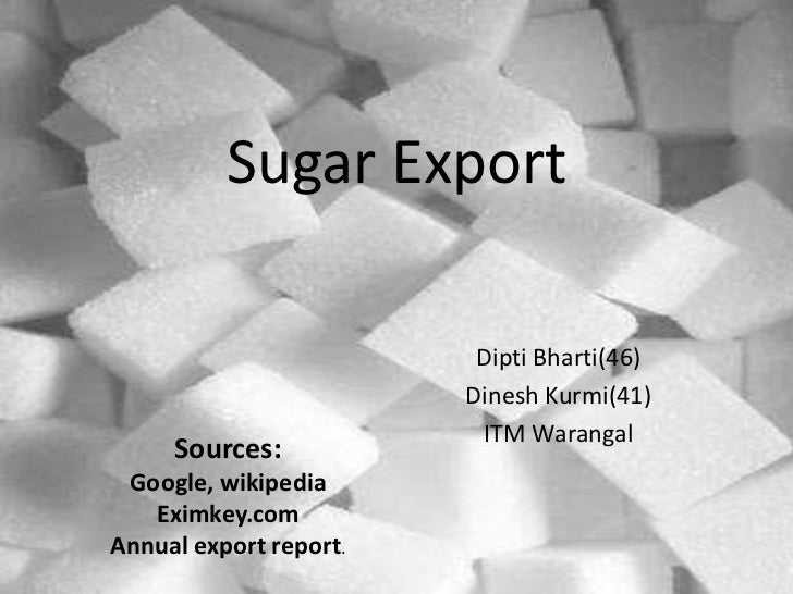 Sugar Export                         Dipti Bharti(46)                        Dinesh Kurmi(41)                         ITM ...