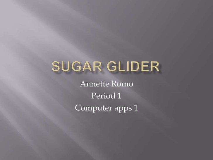 Annette Romo   Period 1Computer apps 1