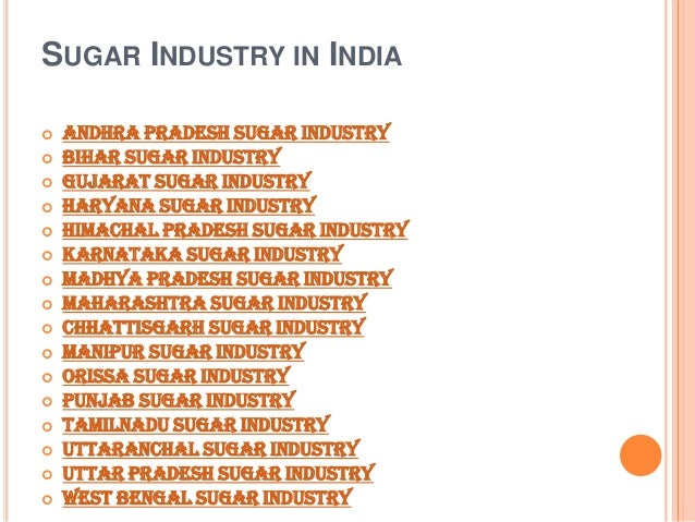 the karnataka sugar industry Best overall performance of private sugar mill award- 2016  federation of  karnataka chambers of commerce industry (fkcci) award for best district  exporter.