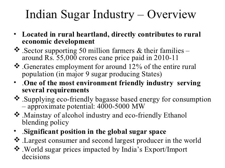 sugar industry of india Know about the sugar industry in india and its types also know about the  manufacturing process of sugar in india get to know about how it is.