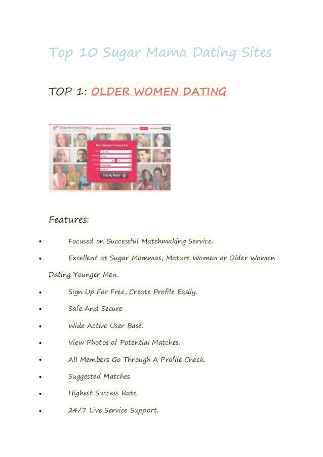 Top ten richest dating sites