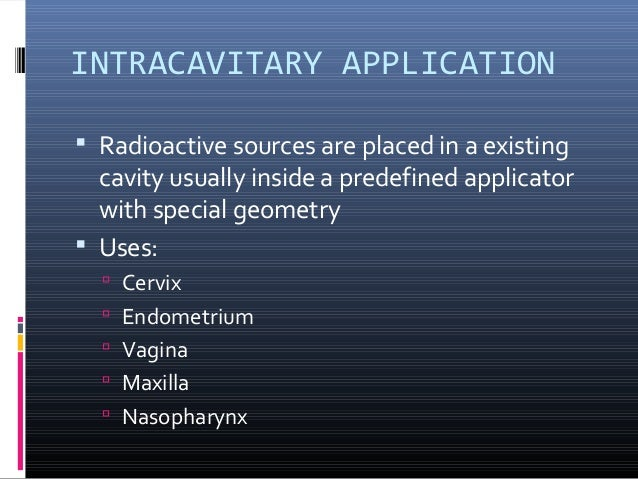 clinical applications of ldr and hdr brachytherapy