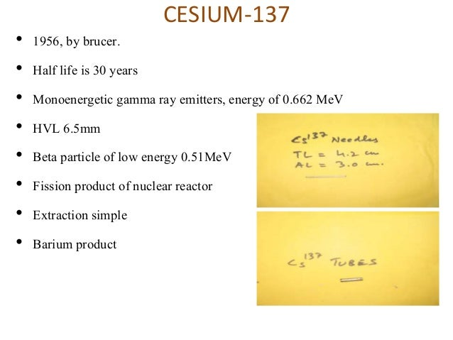 cesium 137 implant