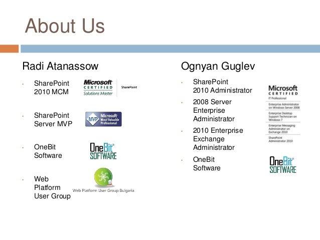 Practical management of development & QA environments for SharePoint 2013 Slide 3