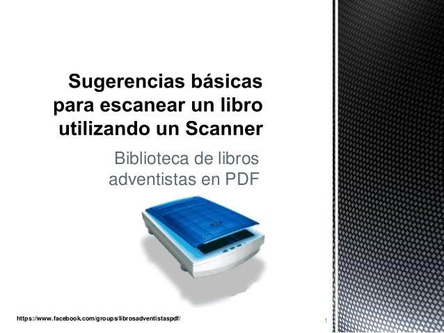 Biblioteca de libros adventistas en PDF  https://www.facebook.com/groups/librosadventistaspdf/  1
