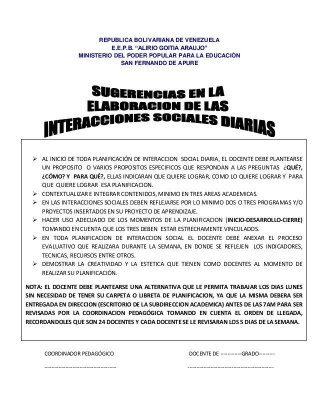 """REPUBLICA BOLIVARIANA DE VENEZUELA                                   E.E.P.B. """"ALIRIO GOITIA ARAUJO""""                      ..."""