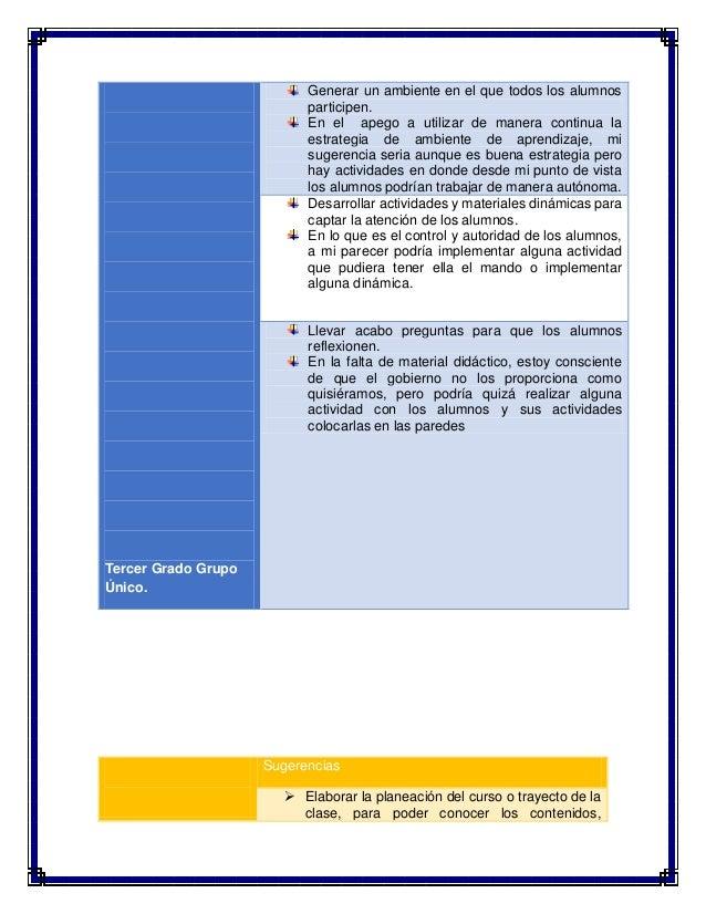 Sugerencias para la mejora del desempeño en el aula y la práctica docente Slide 3