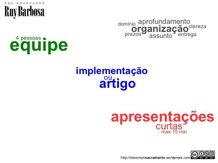 domínio   aprofundamento                            organização                         prazos                            ...