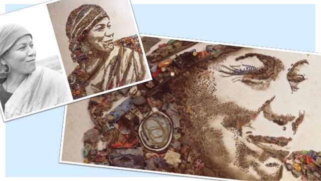 """Inclusive seus retratos feitos de açúcar, da série """"Crianças de Açúcar"""", também são obras do PAS. DICA DO PAS"""