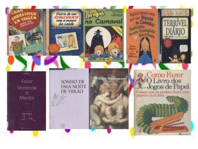 Sugestões de leitura para o carnaval