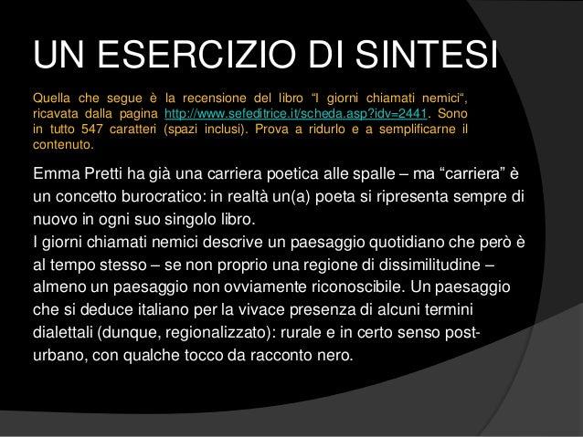 """UN ESERCIZIO DI SINTESI Emma Pretti ha già una carriera poetica alle spalle – ma """"carriera"""" è un concetto burocratico: in ..."""