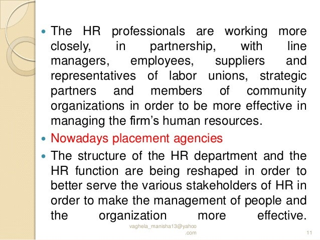 problems faced by hrm departments and Although there are many problem but impotent are 1political force2top position's force3time sortage.