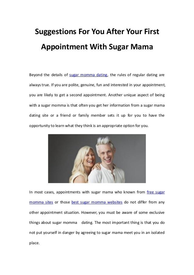 Sugar mama dating site for free