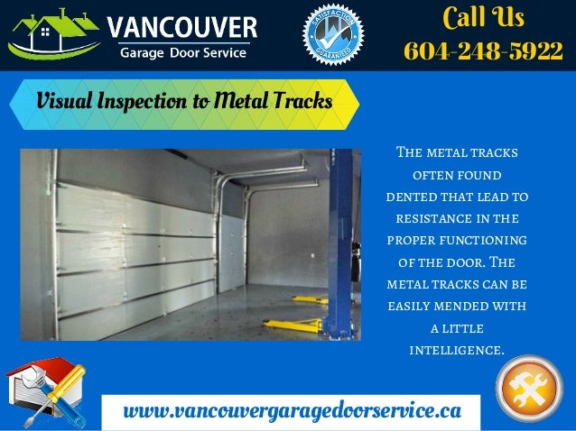 Suggests 5 Simple Garage Door Maintenance Tips Vancouver
