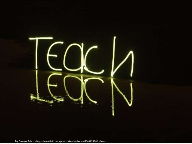 Think in one word in order to describe the possibilities of the technology in the teaching and learning process