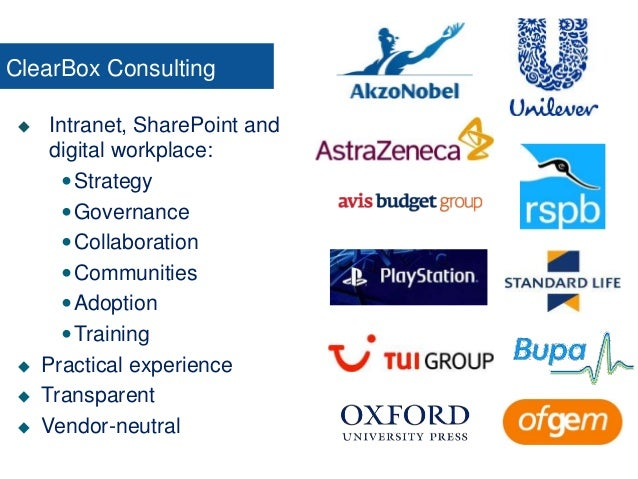  Intranet, SharePoint and digital workplace: Strategy Governance Collaboration Communities Adoption Training  Prac...