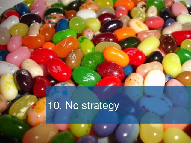 A good SharePoint strategy… • Sets out how SharePoint supports the organisation's strategy • Shows how we'll get the desir...