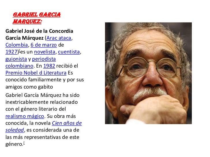 Sugunda Actividad De Gabriel Garcia Marquez