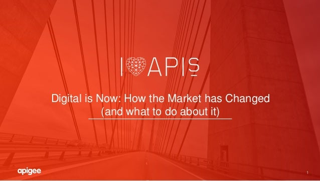 1 Digital is Now: How the Market has Changed (and what to do about it)