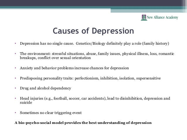 The effects of depression on hamlets behavior