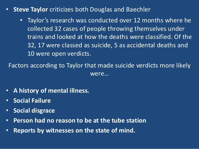 sociology and suicide Within sociology there are many different views on suicide on the causes and explanations for it, these come from two main methodologies which are positivists who believe that sociology is a science and they should aim to make causal laws on suicide rates, compared to interpretivists who believe that they should look for meaning behind .