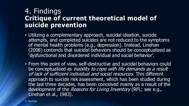 a description of the self destruction suicide Suicide definition: synonyms: taking your own life, self-destruction, ending it all [informal], self-immolation more synonyms of suicide 2 uncountable noun.