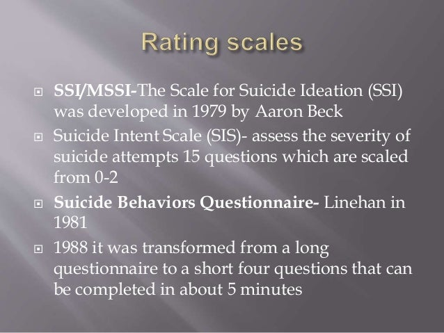 Suicide and deliberate selfharm ppt vimhans