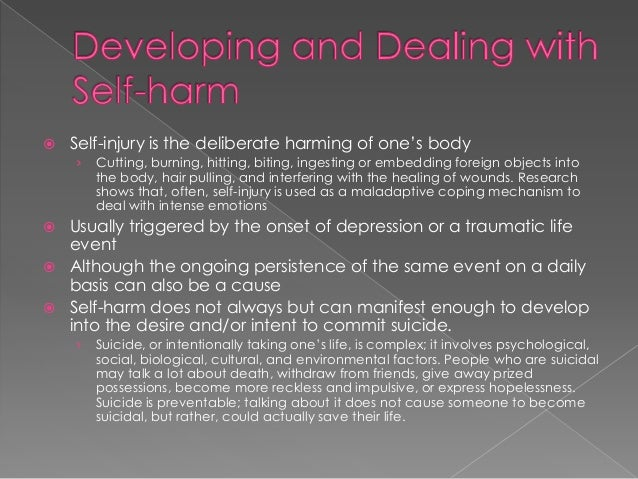 Self-harm study finds kids as young as 7 engage in cutting, hitting themselves