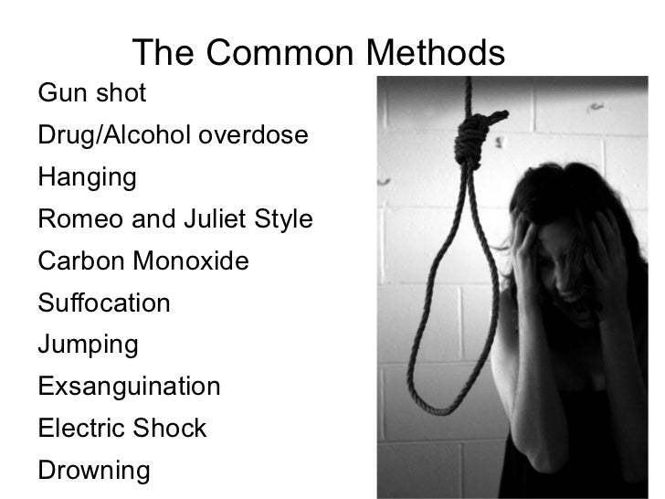 What causes teenagers to commit suicide