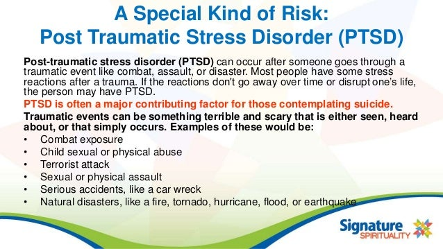 post traumatic stress disorder symptoms risks and treatment Post-traumatic stress disorder research also shows that it is extremely common for parents of children receiving cancer treatment to develop stress-related symptoms treatment of ptsd post-traumatic stress disorder and cancer post-traumatic growth and cancer.