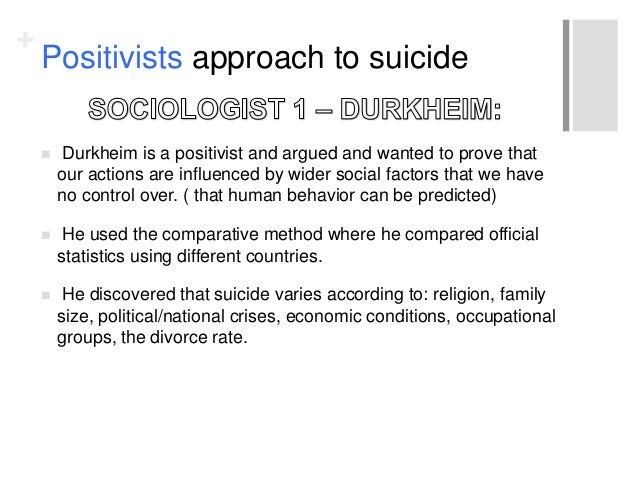 Types of suicide proposed by durkheim   Best Writings   A      studylib net Preview of Assess the sociological explanations and approaches to suicide      marks    A