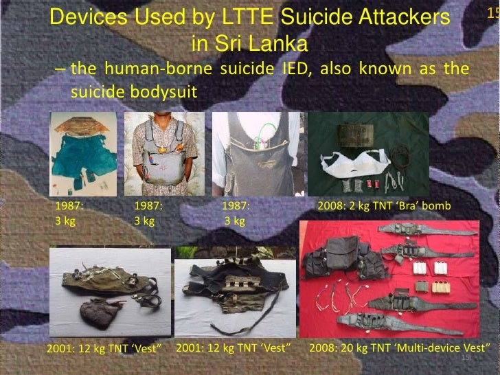 Thesis on suicide bombing