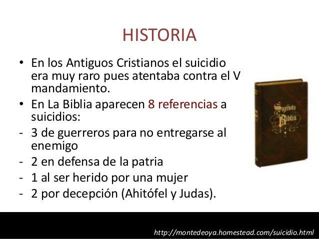 Resultado de imagen para cristianos  el suicidio