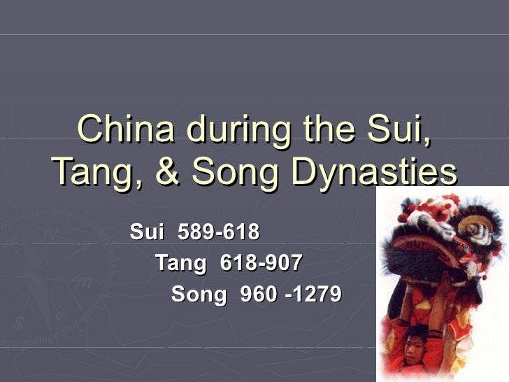 changes in china during the sui The dynasty was also the beginning of china's iron age  all these changes in ruling  confucianism came to popularity during the zhou dynasty and the kings.