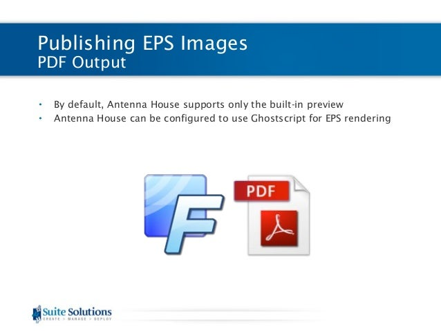 Suite Labs: Publishing EPS Images to PDF and HTML Outputs