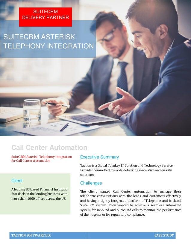Case Study | SuiteCRM Asterisk Telephony Integration
