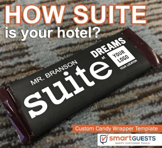 Suite dreams   candy wrapper pdf template