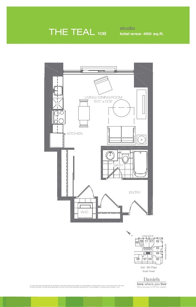 All areas and stated room dimensions are approximate. Floor area measured in accordance with Tarion Warranty Corporation b...