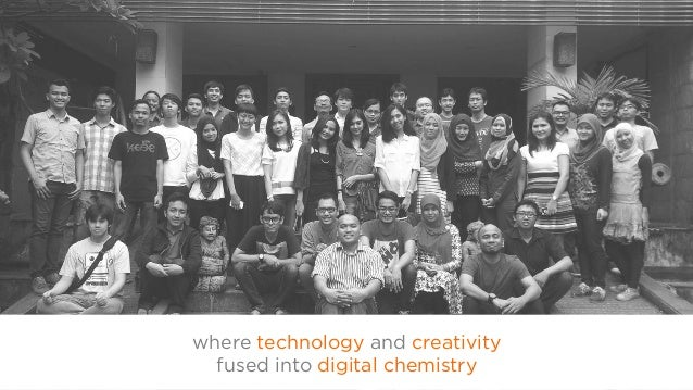 where technology and creativity fused into digital chemistry