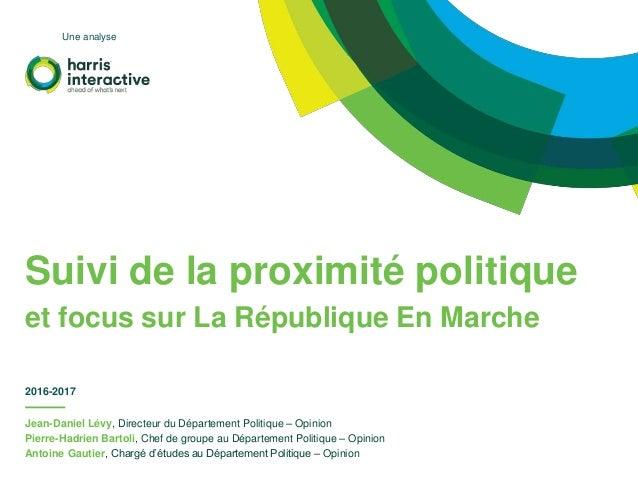 Jean-Daniel Lévy, Directeur du Département Politique – Opinion Pierre-Hadrien Bartoli, Chef de groupe au Département Polit...