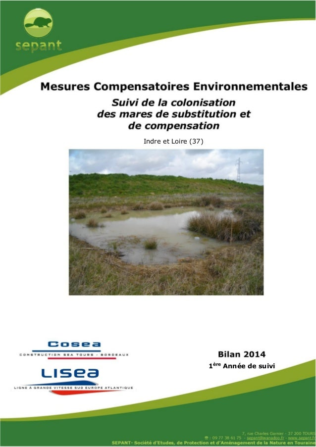 Janvier 2016 Indre et Loire (37) 1ère Année de suivi