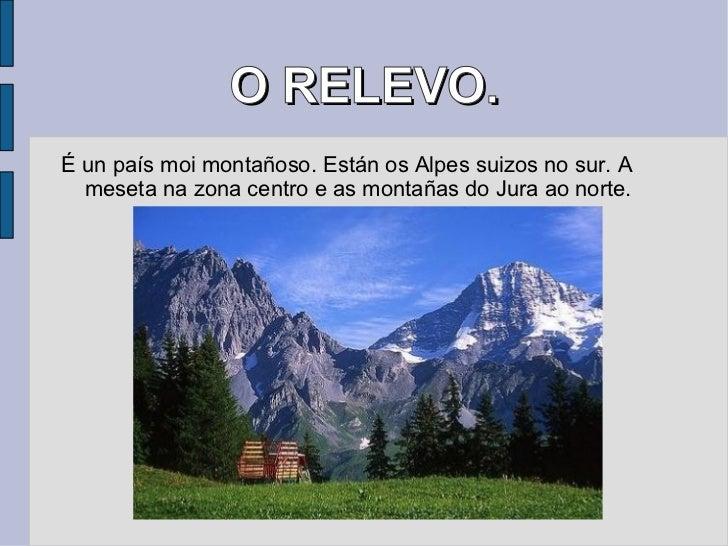Importantes Ríos De Suiza: Suiza