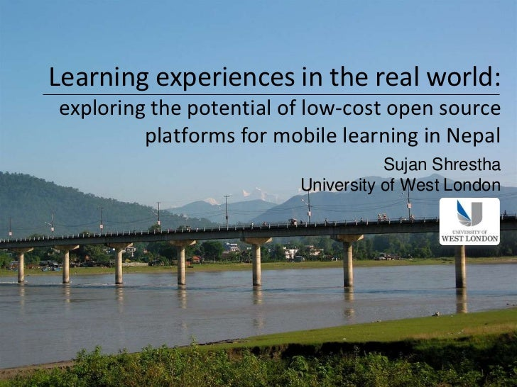 Learning experiences in the real world:exploring the potential of low-cost open source         platforms for mobile learni...