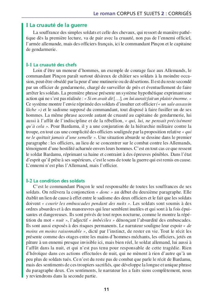 Introduction pour dissertation sur le roman