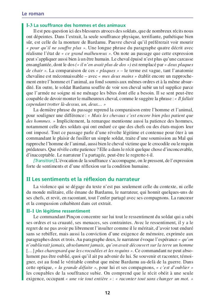 Dissertation roman exemple