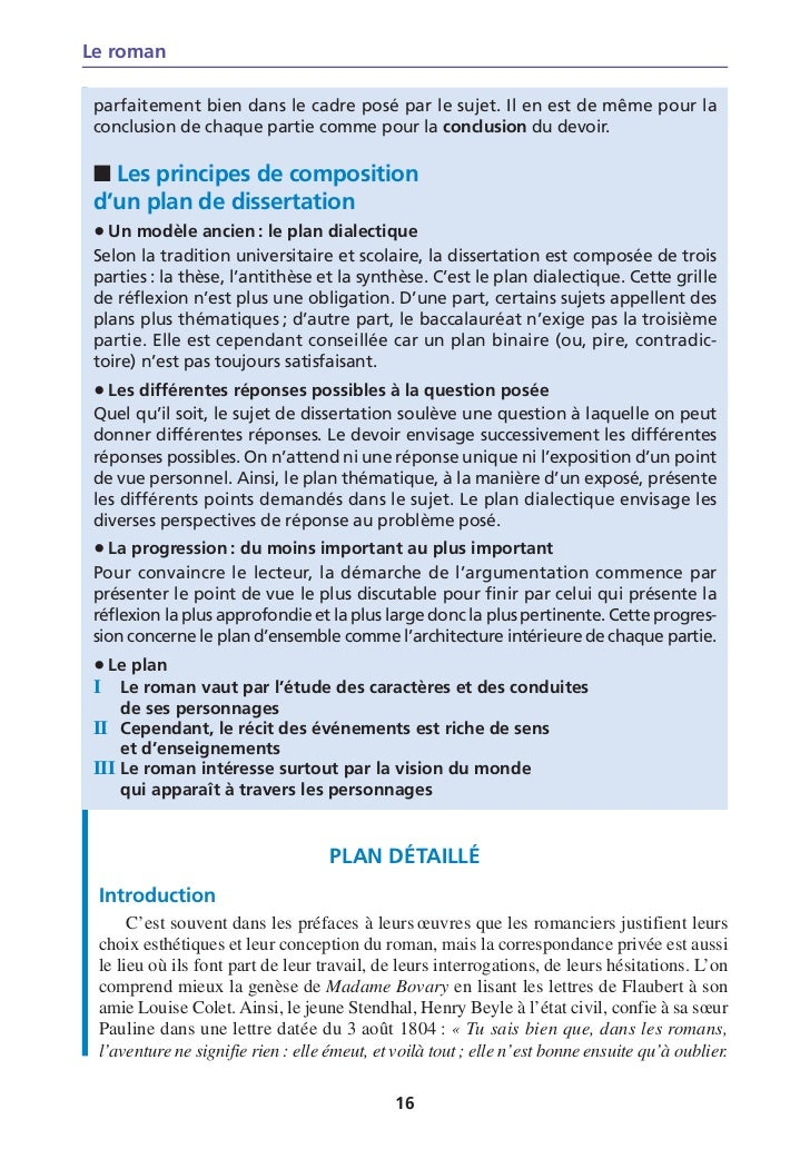 exemple dissertation dialectique franais Sawyer tp 1 par exemple dissertation jutilise un plan dialectique le fameux plan thse antithse synthse le sujet de dissertation est celui du bac de franais.