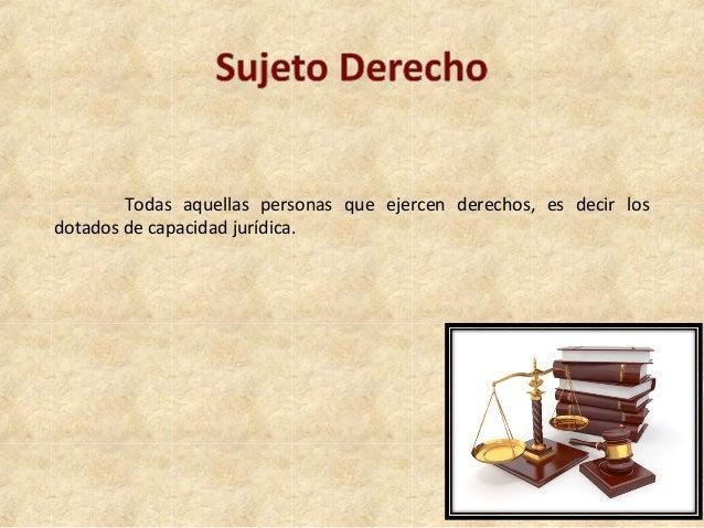 114c3bfe1ba0 Sujeto de derecho