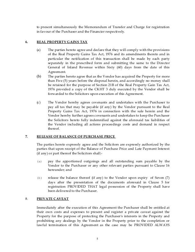 sample subsale agreement (company & company)